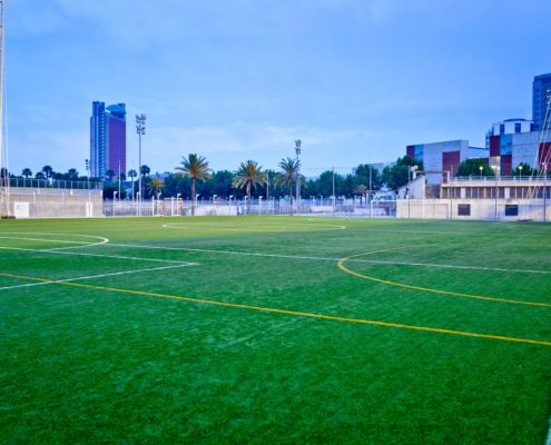 Campos de fútbol 7 en L'Hospitalet