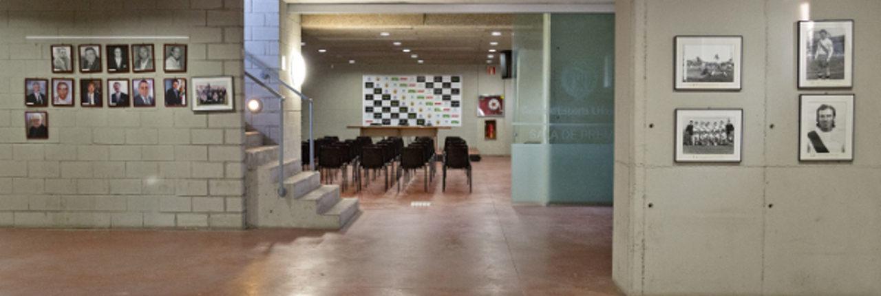 espacios polivalentes para prensa en el estado fútbol L'Hospitalet