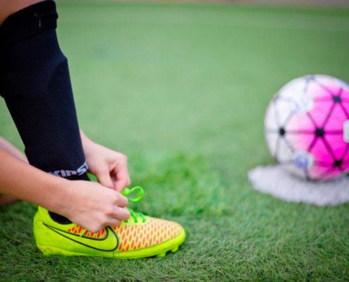 fútbol niños estadio L'Hospitalet