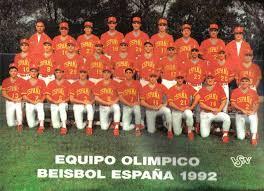 Equipo olímpico español de Beisbol