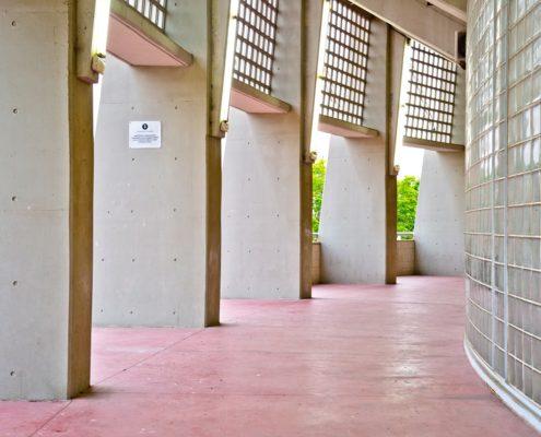 Exterior estadio fútbol L'Hospitalet