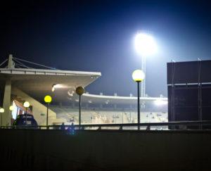 iluminación del estadio Copa del Rey