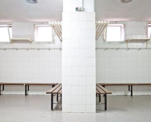 vestuarios del estadio futbol L'Hospitalet